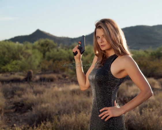 Women of The Wild West Gun Calendar